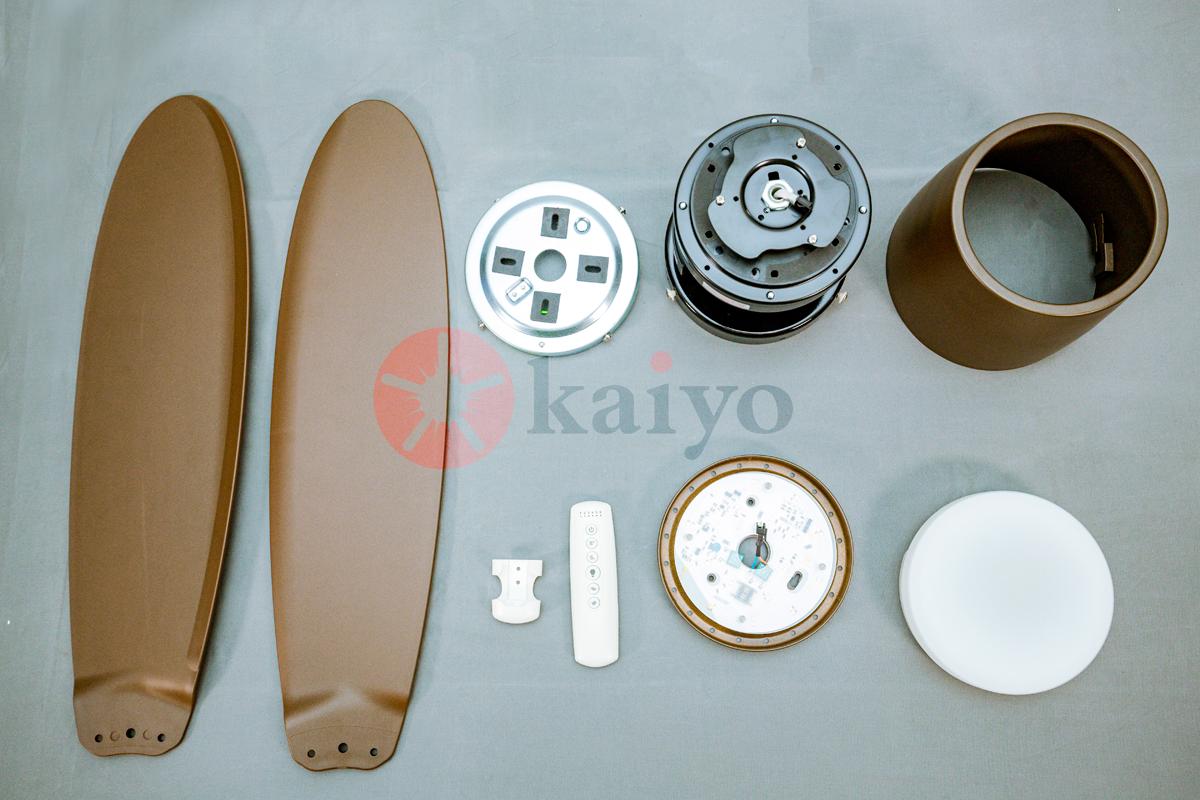 Quạt trần đến từ thương hiệu Nhật Bản